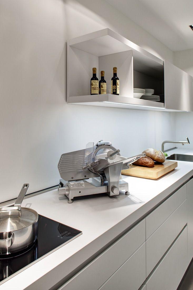 Bulthaup b1 greek barcelona kitchens pinterest kitchen home decor y showroom - Exposicion cocinas barcelona ...