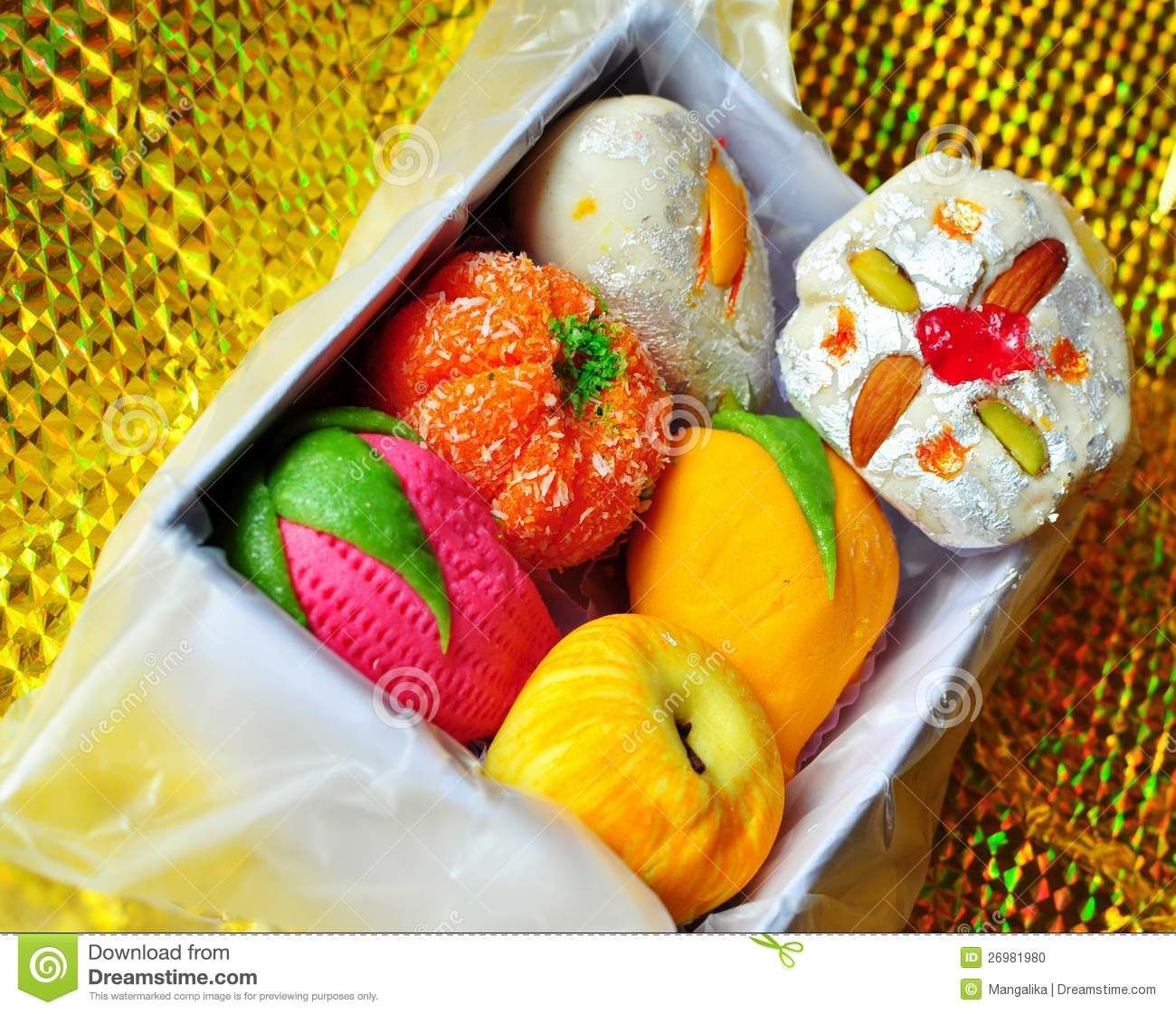 Box Of Colorful Homemade Diwali Sweets Diwali Sweets Indian Sweets Holi Sweets