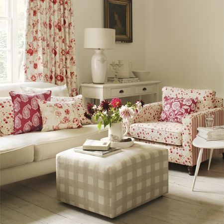 Clarke and Clarke - Genevieve Fabric Collection - Armchair with ...