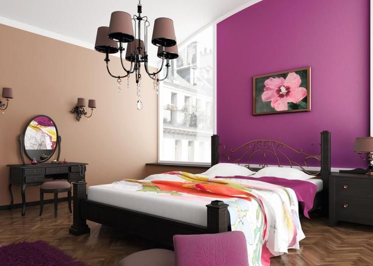 Peinture murale quelle couleur choisir chambre coucher chambres parement mural peinture - Chambre a coucher peinture murale ...
