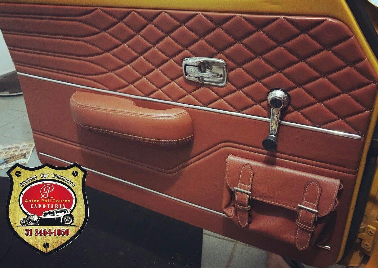 Volkswagen Tl Painel Dor Volkswagenbrasilia Custom Car Interior Vw Bug Interior Automotive Upholstery