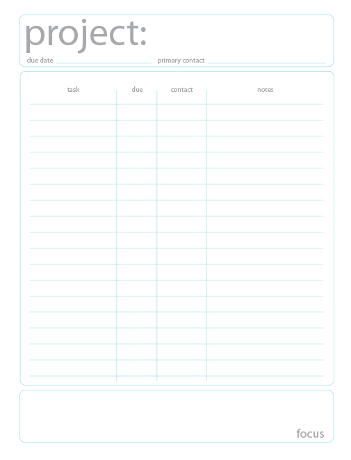 Ask Jacqueline Free Project Planning Printable – Project Management Timeline Template Word