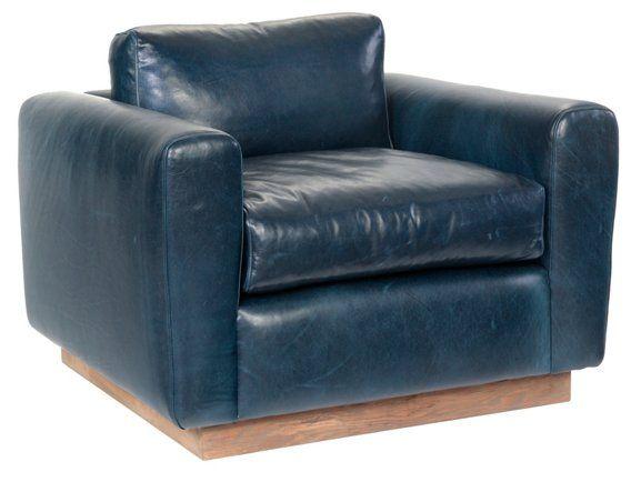 Best Furh Club Chair Blue Leather Swivel Club Chairs Club 640 x 480