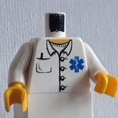 LEGO PEOPLE TORSOs ARMS HANDS ALL  190  EINE PORTOKOSTENMINIFIGUR NR53  lego