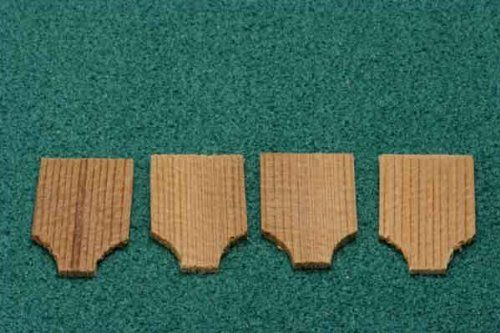 Cape May Cedar Shingles For Dollhouse Miniature Roofing This Bag Covers Approximately 2 1 2 Square Feet And There Wood Router Dollhouse Miniatures Bird Houses