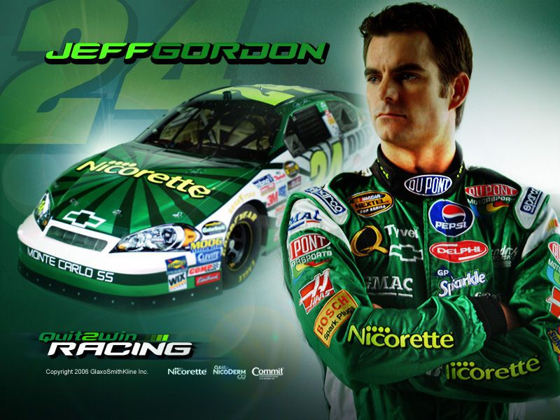 Jeff Gordon Car