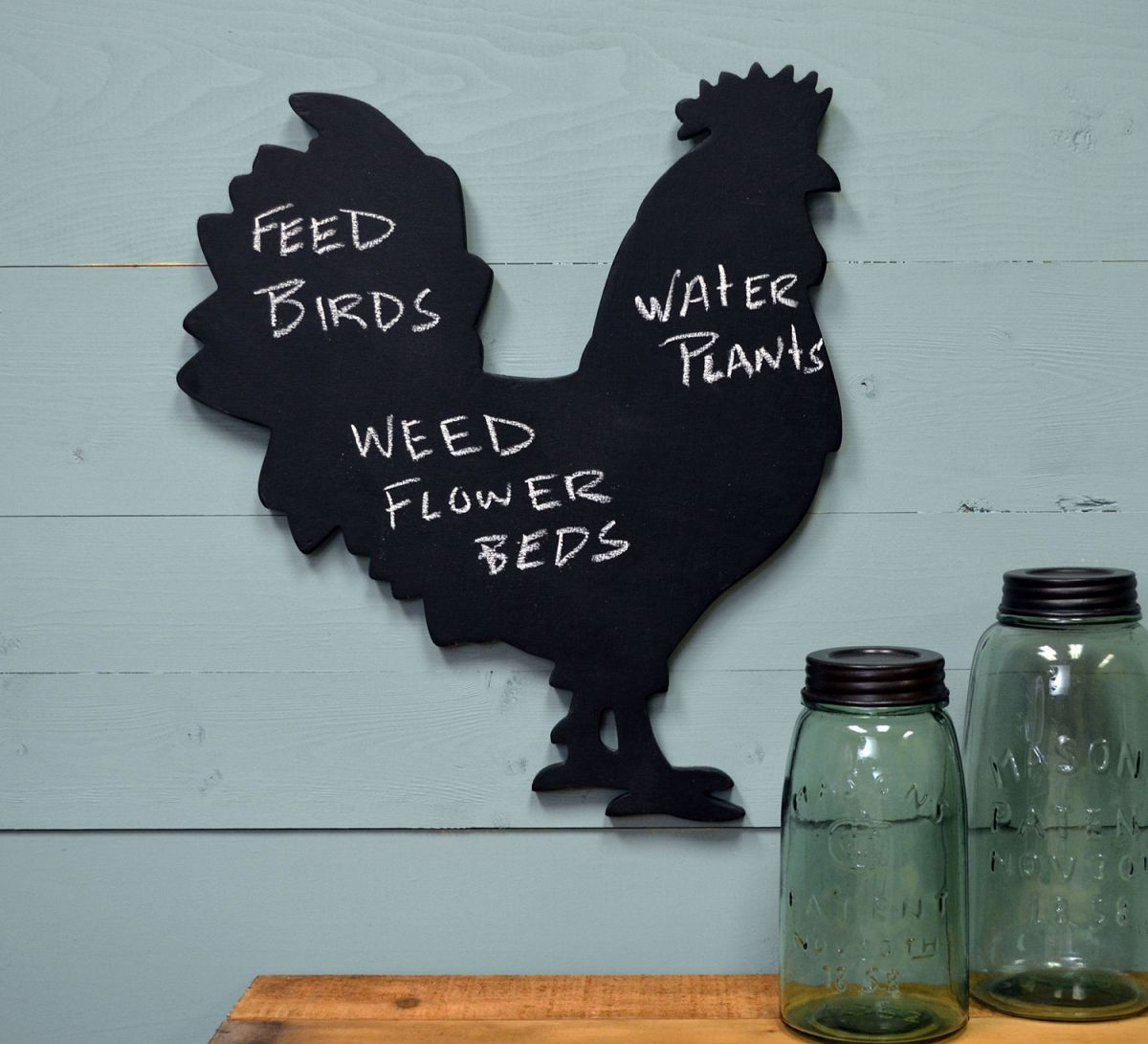 Create unique wall art for your home with our wooden rooster ...
