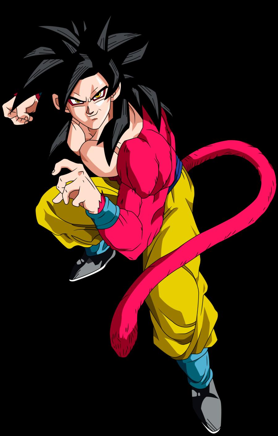 Goku Ssj 4 Dragon Ball Gt Dragon Ball Dragon Ball Art