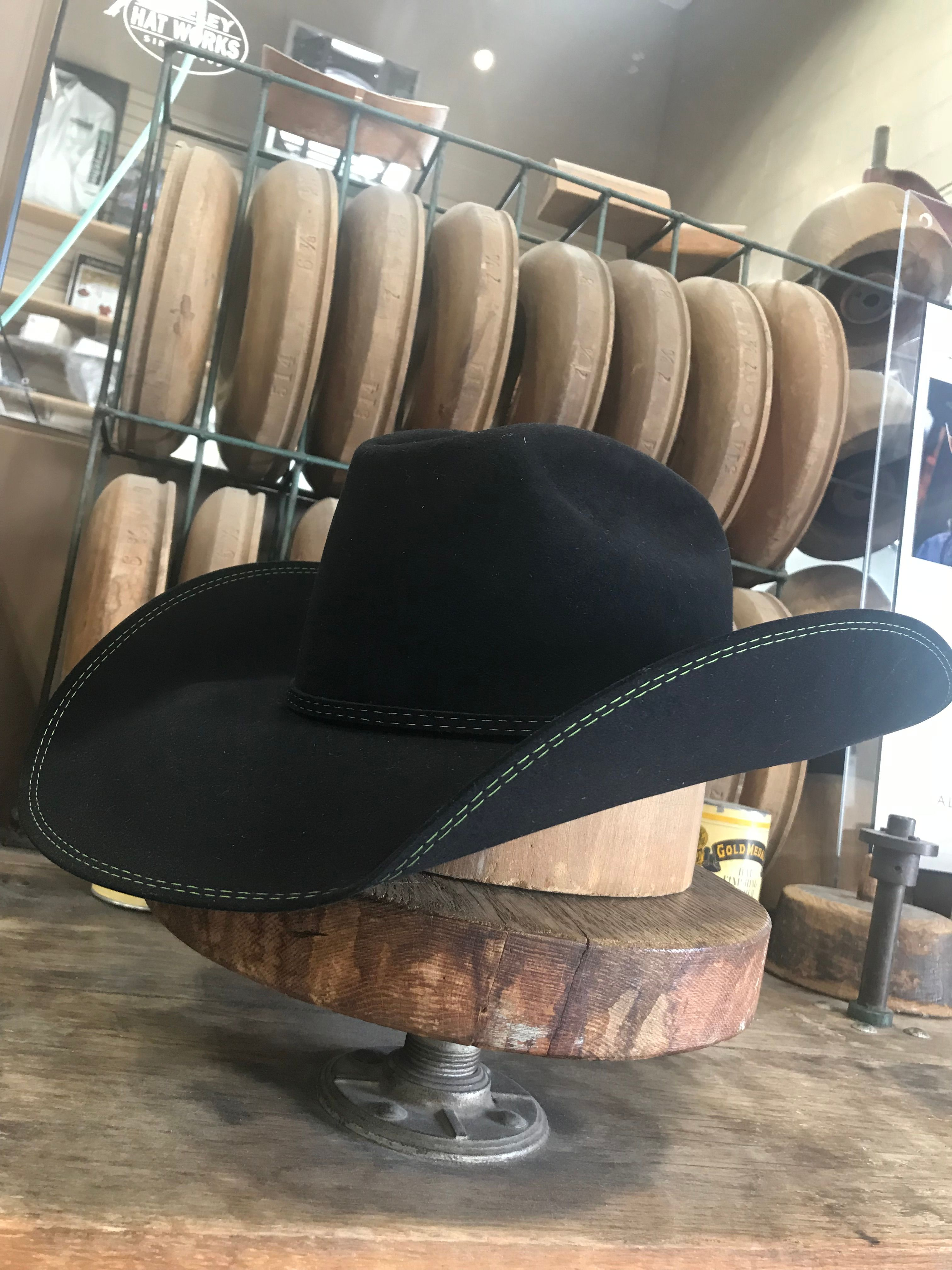 Happy Shipping Out A Brand New Custom Today Man This Is The Best Feeling In The World Specs Pure Beaver B Cowboy Hats Greeley Hat Works Cowboy Hat Styles