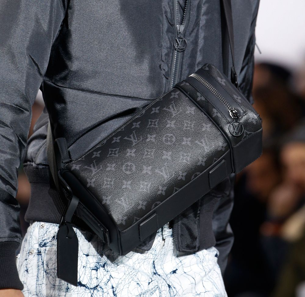 0b3c668a79ee Louis Vuitton s new Fall 2016 men s bags include a new black and grey  damier