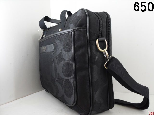 Coach Computer Bag All Black