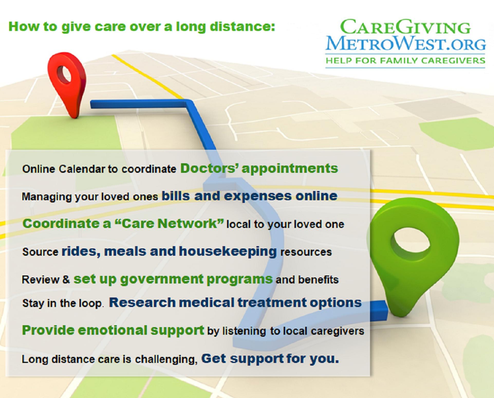 Tips For Caregiving Over A Long Distance Caregiver Health
