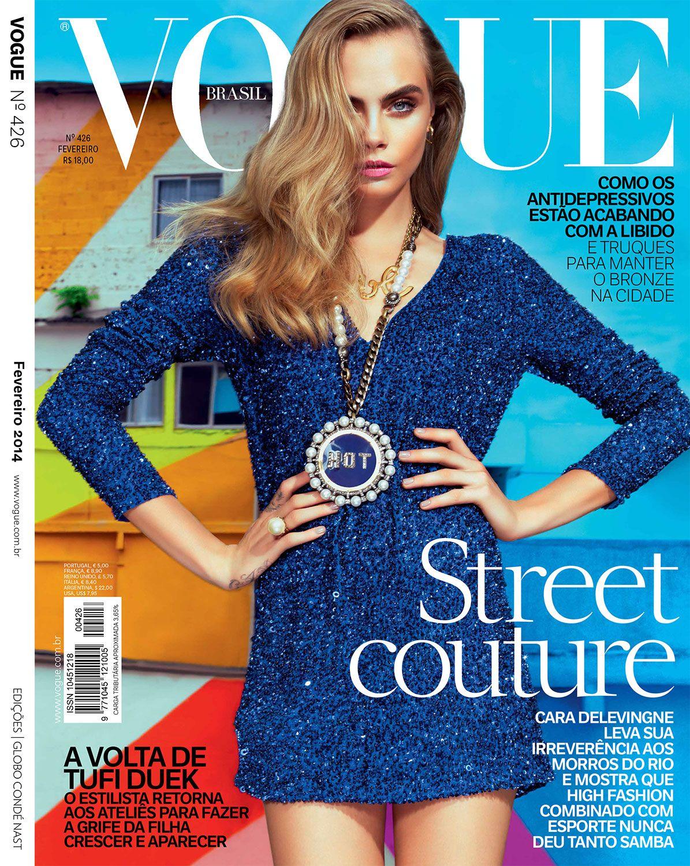nice Retrospectiva 2014 | Vogue Brasil  [Capas]
