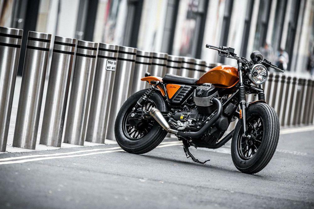 Moto Guzzi V9 Bobber Custom in Cars, Motorcycles & Vehicles