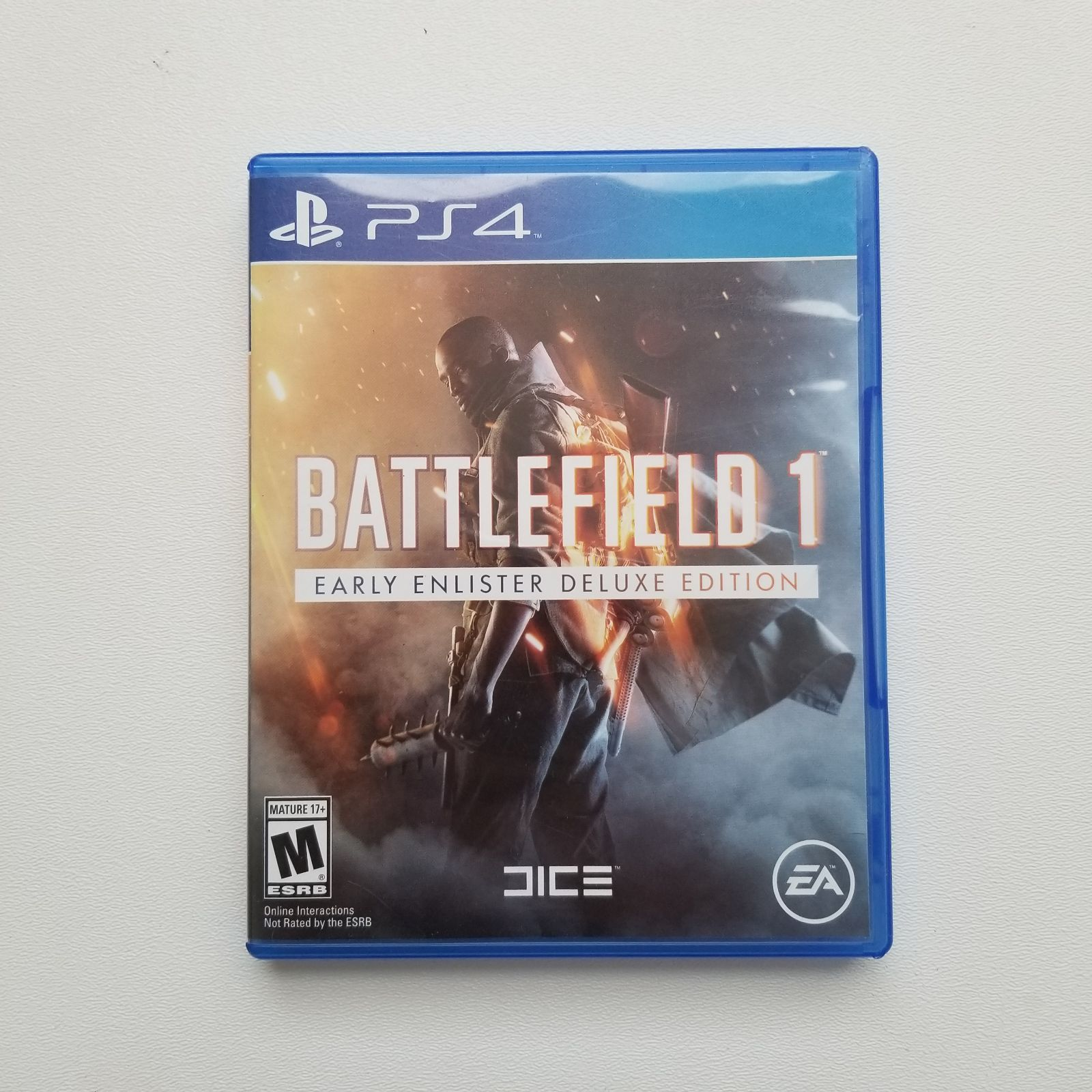 Battlefield 1 Ps4 Game I Also Have A Steelbook For It Look On My
