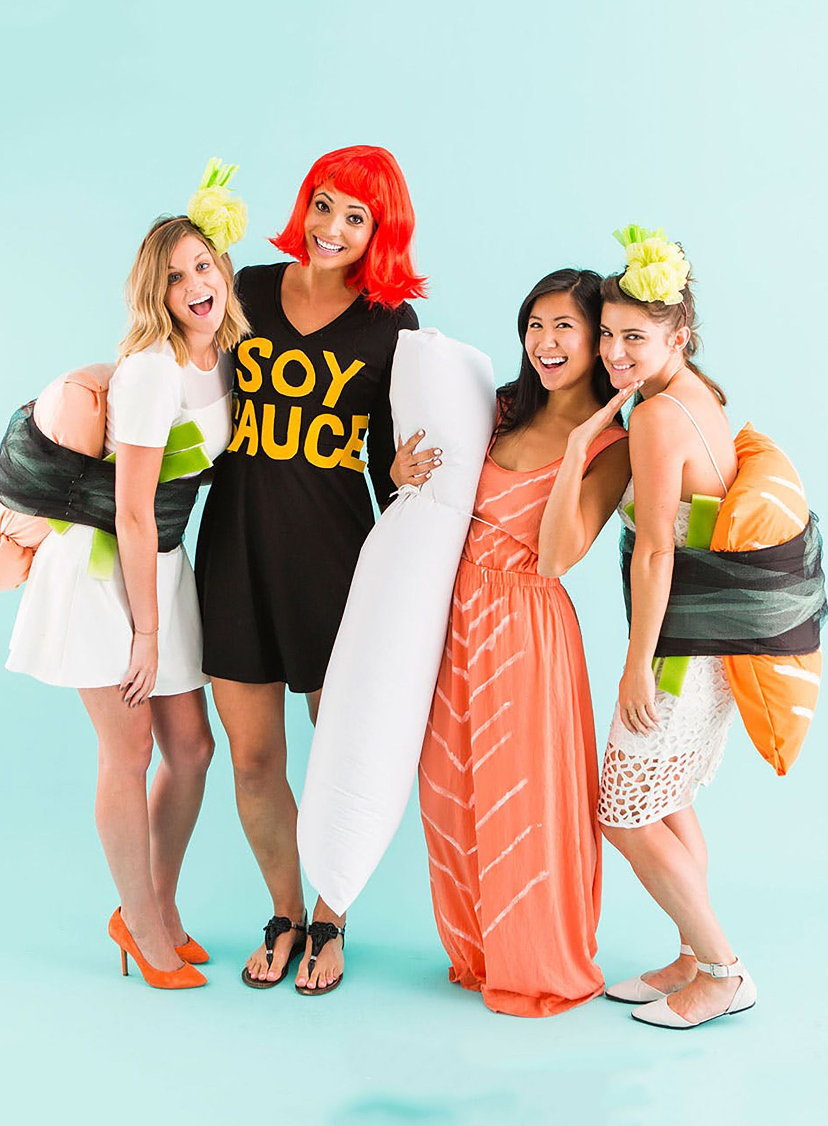 Six Group Halloween Costume Ideas Sushi halloween