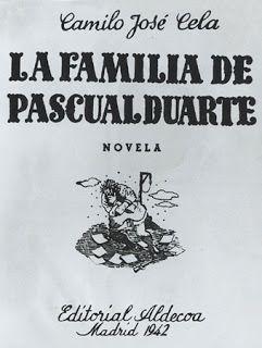 Desiderata 60 Años De La Familia De Pascual Duarte De Camilo José Cela Libros De Lectura Libros Lectura