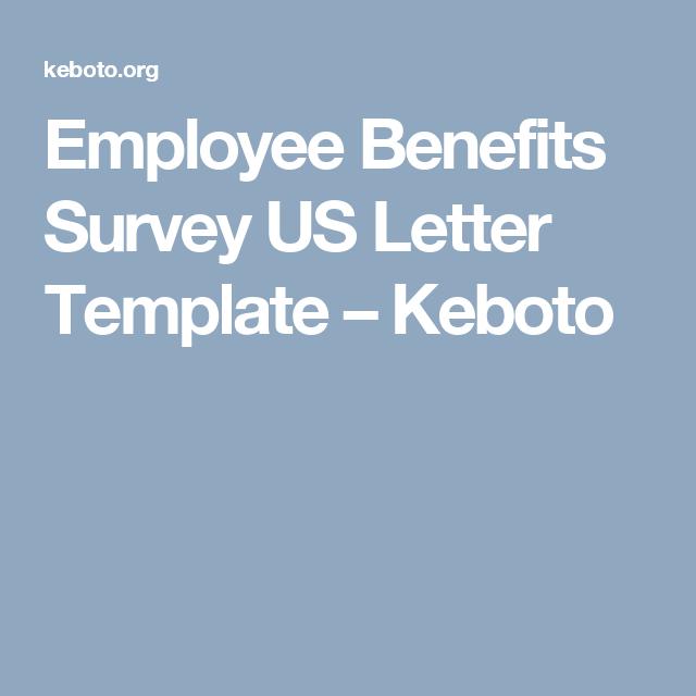 sample employee benefits survey