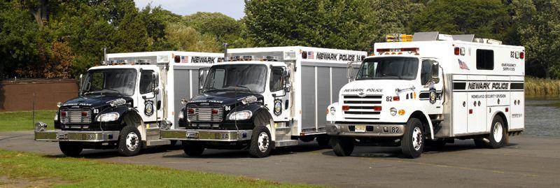 Newark Nj Police Esu Police Truck Emergency Vehicles Police