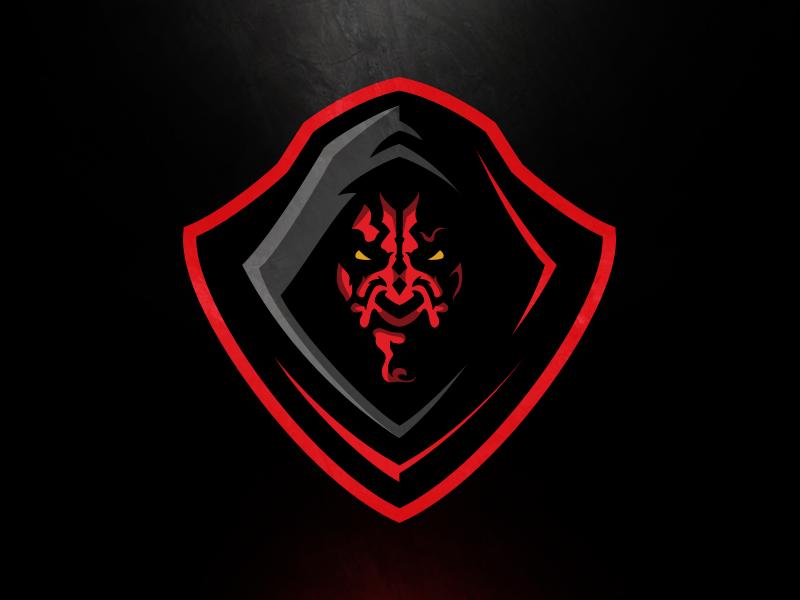 Maul Dribbble 2 Logo Design Art Game Logo Design Logo Design