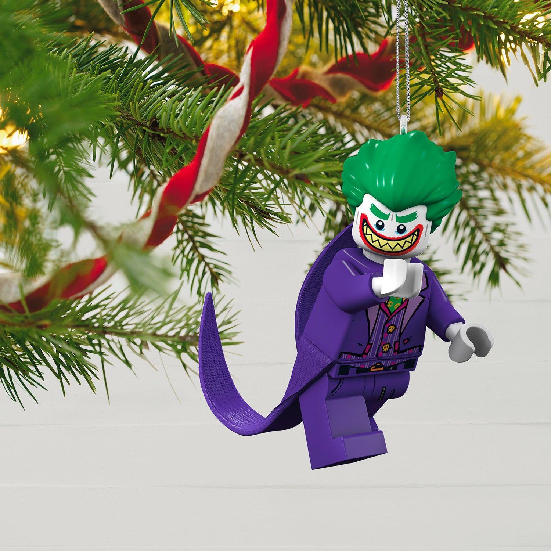 2018 Hallmark The LEGO Batman Movie The Joker Ornament