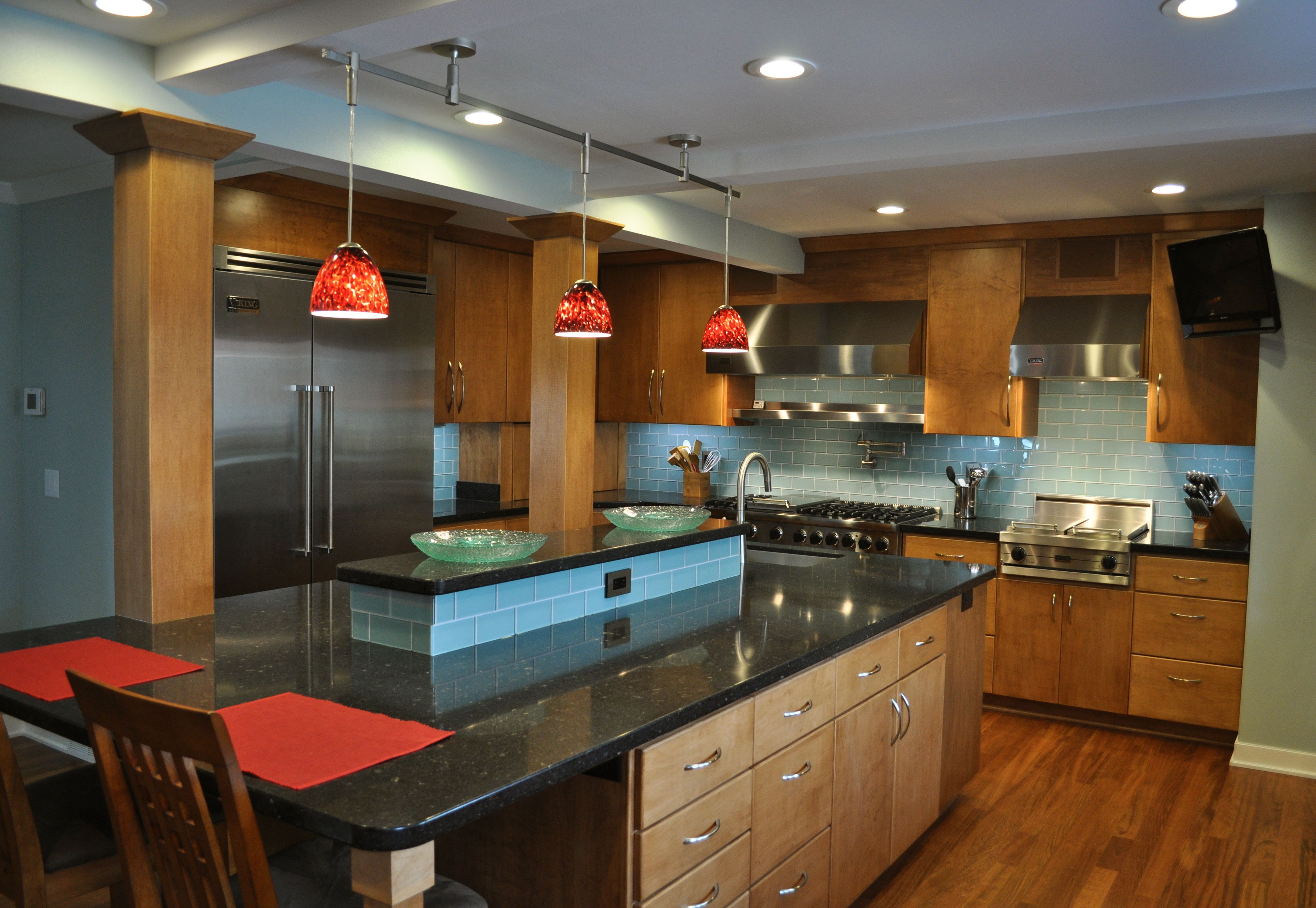 Another Great Kitchen Design I Likedefinitely Would Incorporate Viking Professional