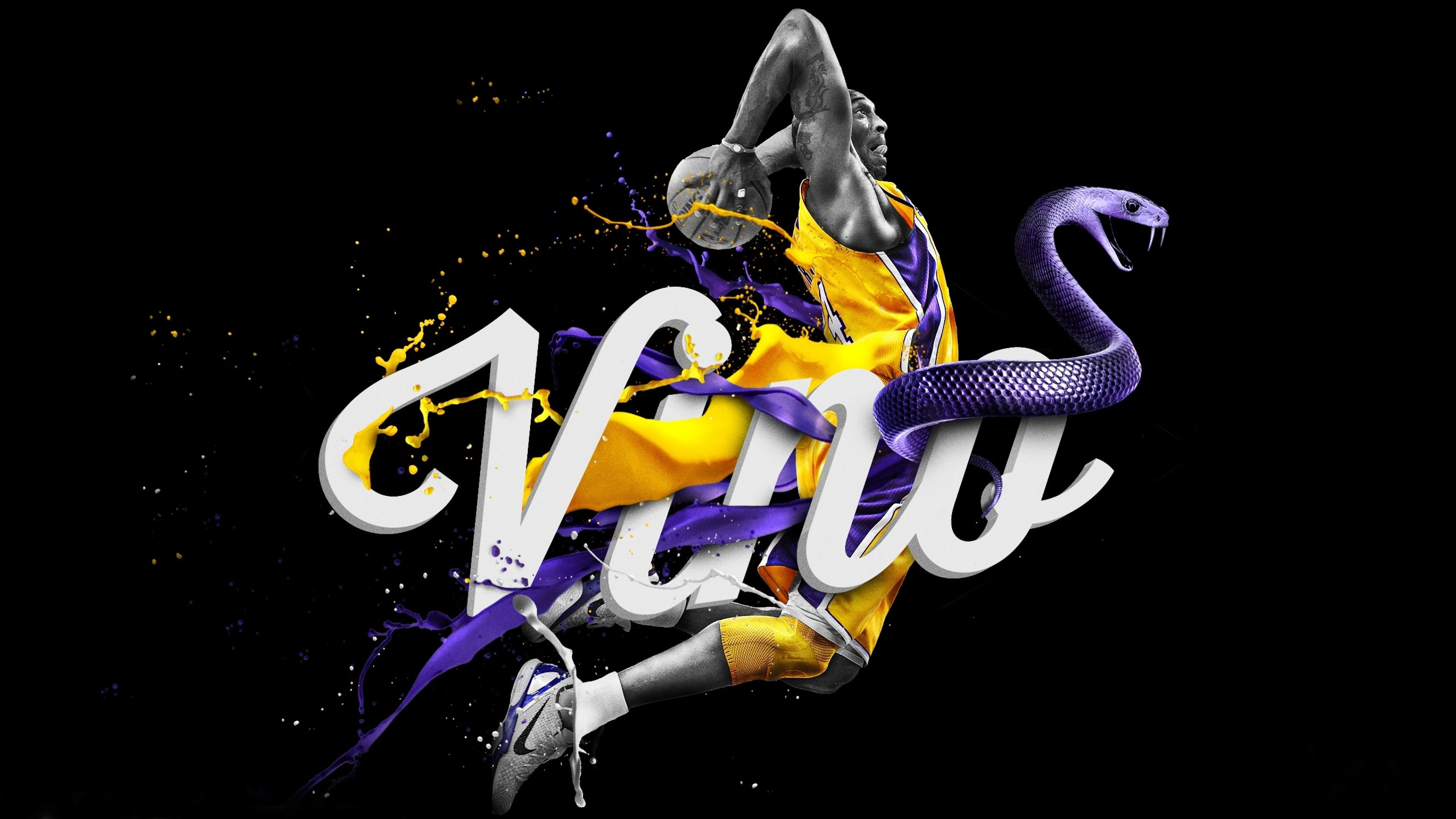 Kobe Bryant Logo Wallpapers High Quality Resolution