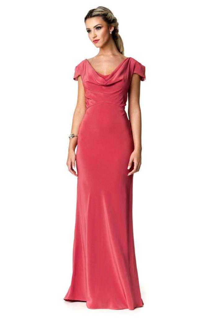 f3a202bff Poetry - Vestido longo com gola boba. #euamoSNM #samenomore #glam #fashion