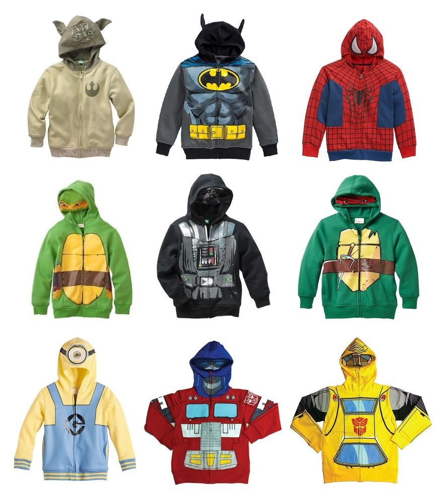 New Teenage Mutant Ninja Turtles/Batman Costume Hoodie - Boys 4-7 ...