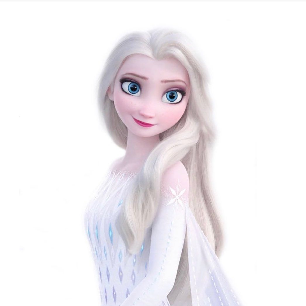 Elsa On Instagram Elsa Frozen2 In 2020 Elsa Pictures Elsa Down Hairstyles