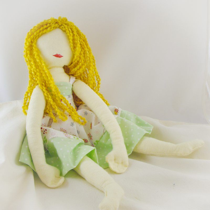 How To Sew A Rag Doll - | Best Of Craft Weekly | Pinterest | Vendimia