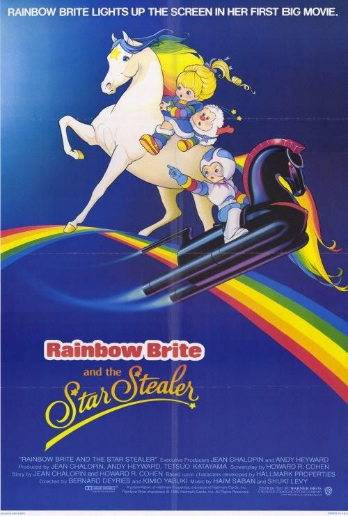 Rainbow Brite And The Star Stealer 27x40 Movie Poster