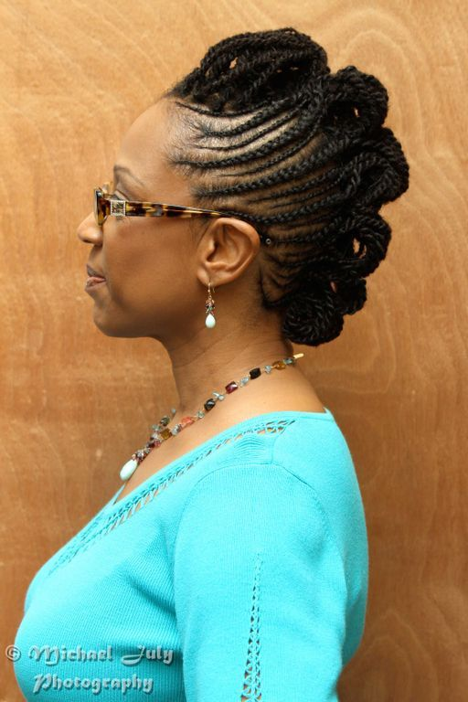 Braided Mohawk Styles Braid Style Inspired By Essence China Of