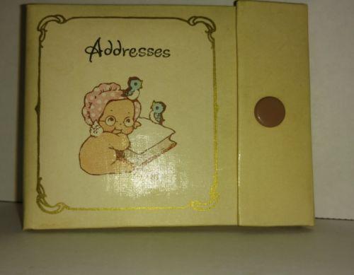 Vintage kewpie american greetings address book rose o 039 neill vintage kewpie american greetings address book rose o m4hsunfo