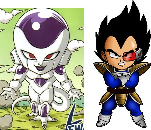 Freezer Vegeta Dragon Ball Z Version Chibi Personajes De Dragon Ball Personajes De Goku Goku Chibi