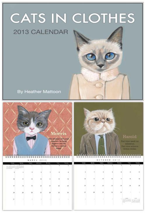 last years calendar ) Cats, Dog cat, Dogs
