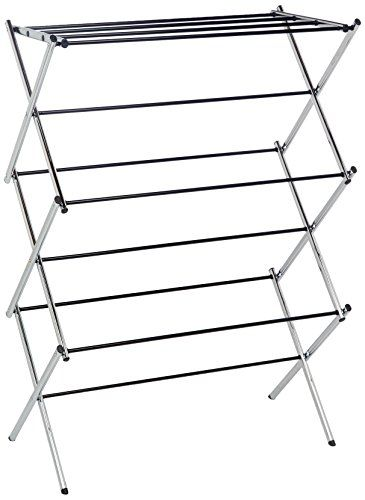 Amazon Drying Rack Amazonbasics Foldable Drying Rack  Chrome 2015 Amazon Top Rated
