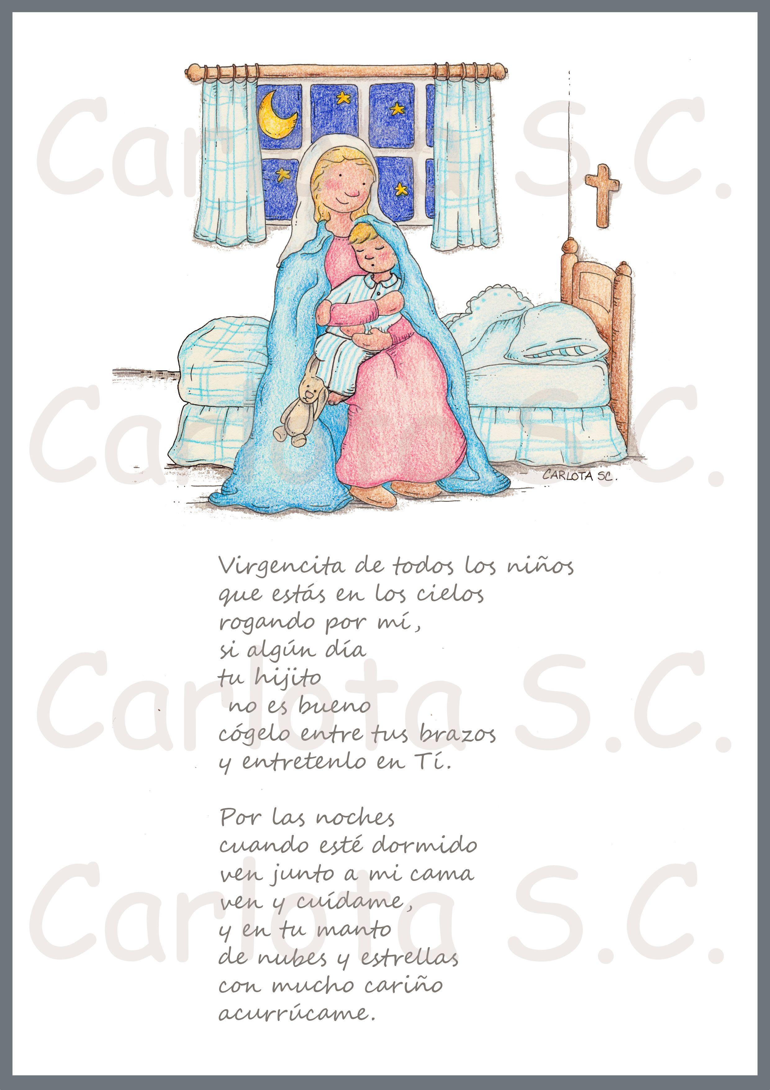 Virgencita De Todos Los Niños Www Carlotasc Com Aurora Sleeping Beauty Holy Mary Cross Stitch