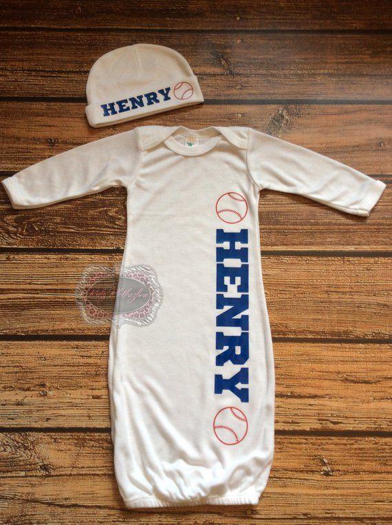 Baby Sleep Sack Personalized Sleep Sack Onesie Personalized Newborn Hat  Baseball Baby Shower Gift Ne ae74251b5e2f
