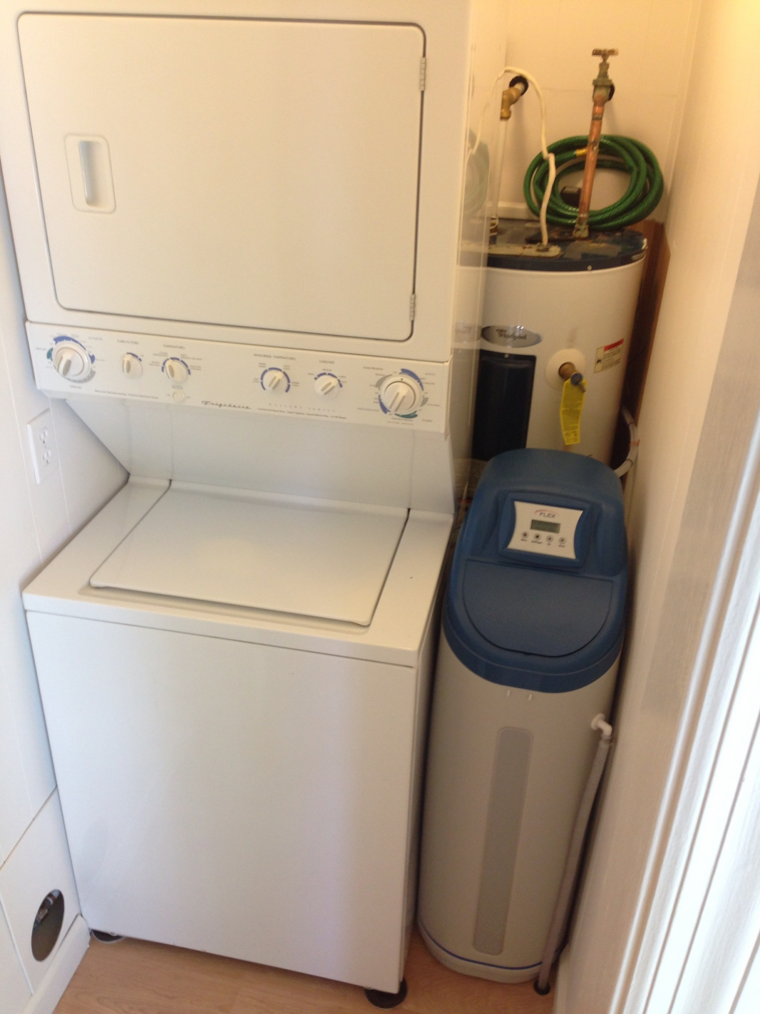 water softener small spaces