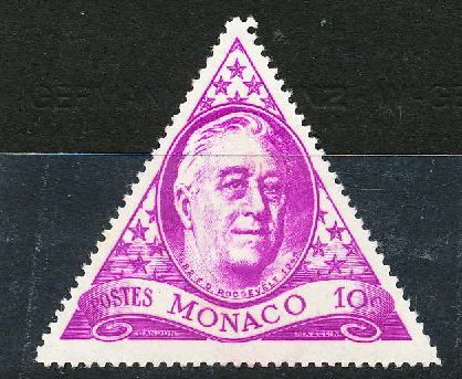 Triangle shaped stamps from around the world Stamp