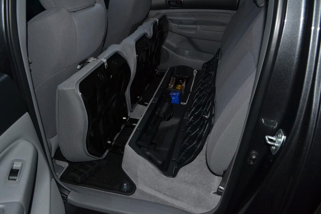 Cheap Mod Double Cab Under Seat Long Gun Storage Gun