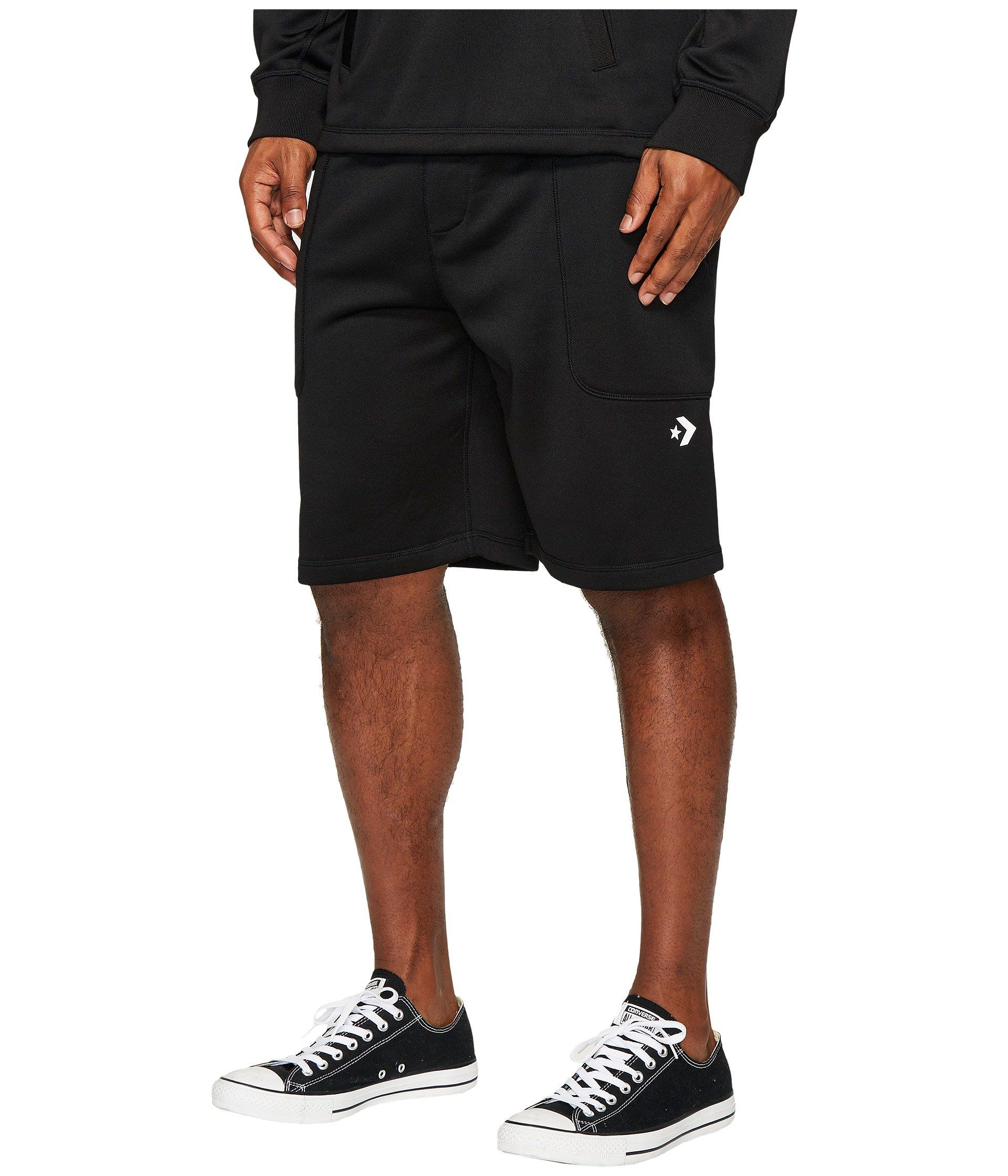 Converse Hybrid Shorts In Black