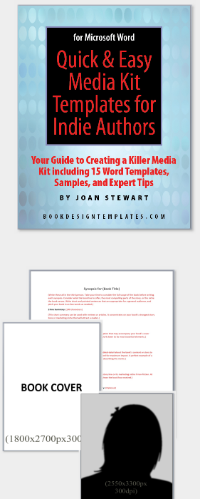 Quick Easy Media Kit Templates For Indie Authors For The Novice