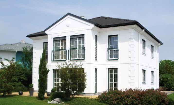 white residence maba fertighaus pinterest. Black Bedroom Furniture Sets. Home Design Ideas