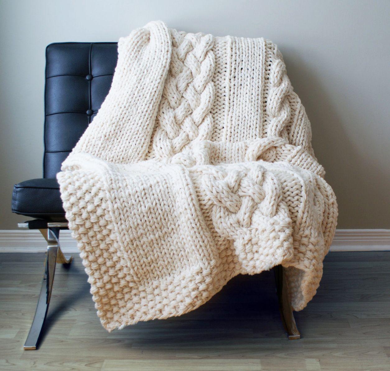tend ncias de decora o para o inverno plaid tricot. Black Bedroom Furniture Sets. Home Design Ideas