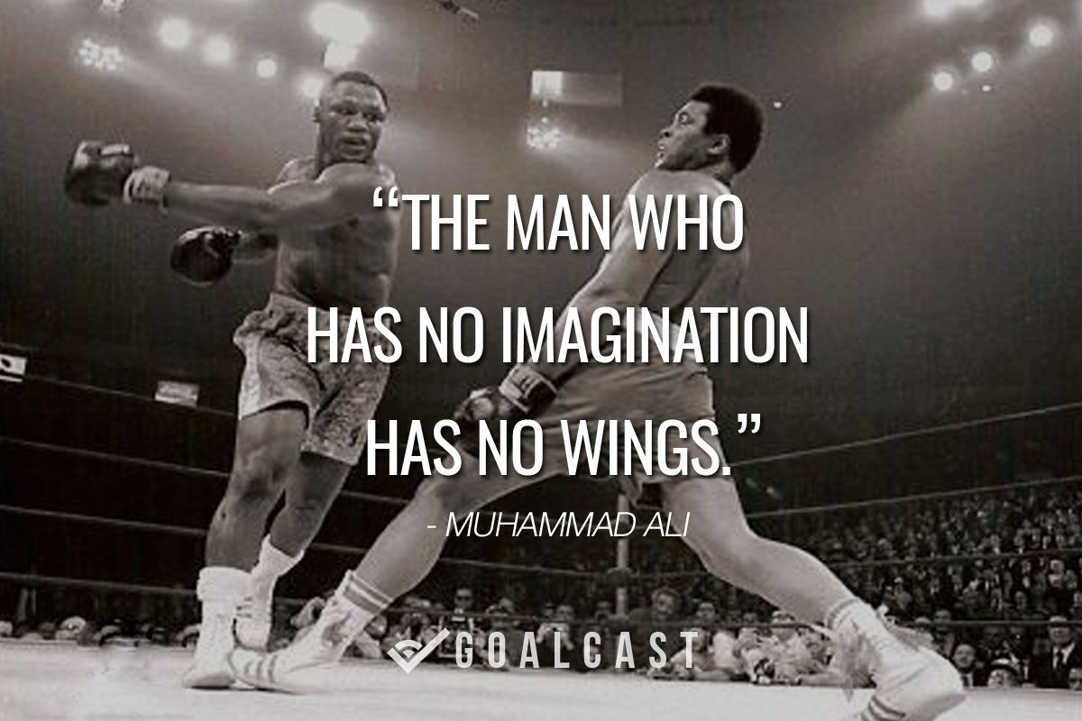 Charmant Muhammad Ali Was One Of The Most Inspiring Athletes In History. Here Are 30  Of The Greatest Muhammad Ali Quotes To Inspire You To Achieve Your Own  Goals.