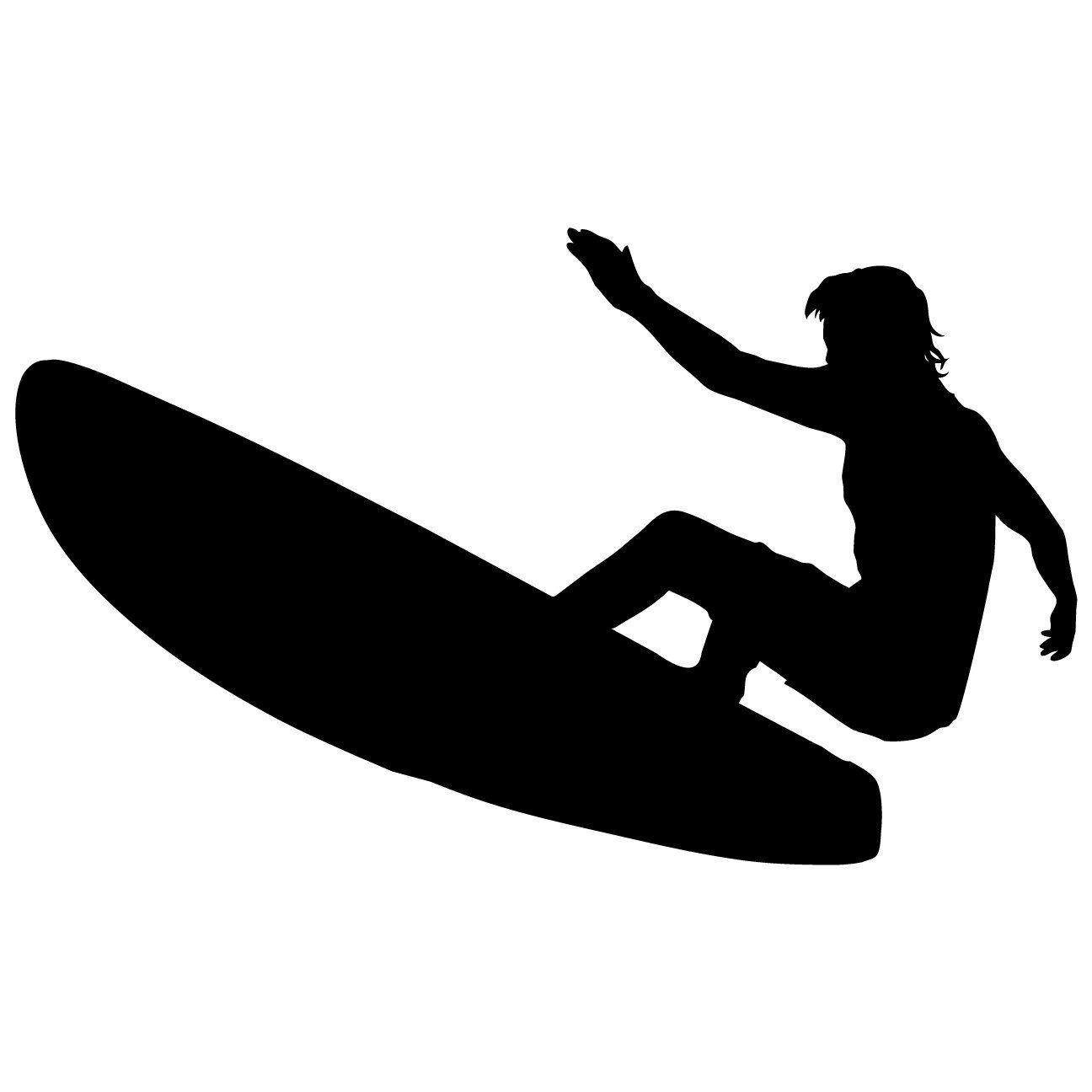SURFER Boys Bedoom Kids Sports Wall Art Decal