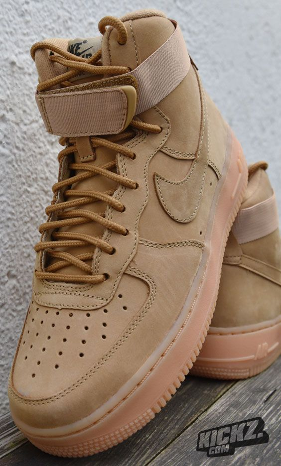 Flax This Fall Ready Version Of The Wmns Air Force 1 Hi Prm Is