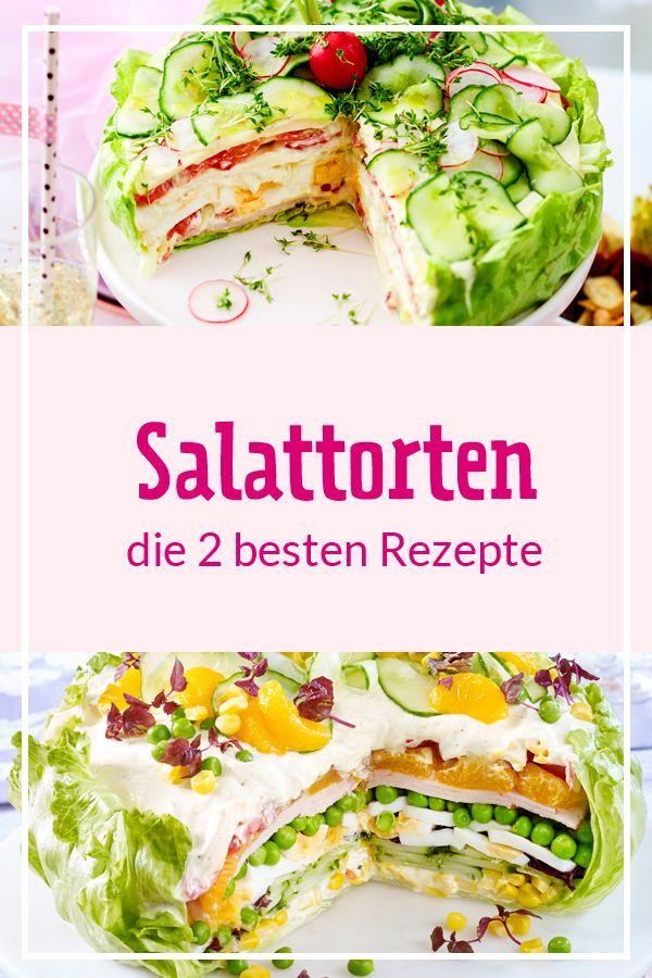 Salattorten - die zwei besten Rezepte für Party und Buffet | LECKER